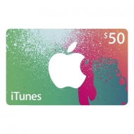 iTunes $50 Gift Card